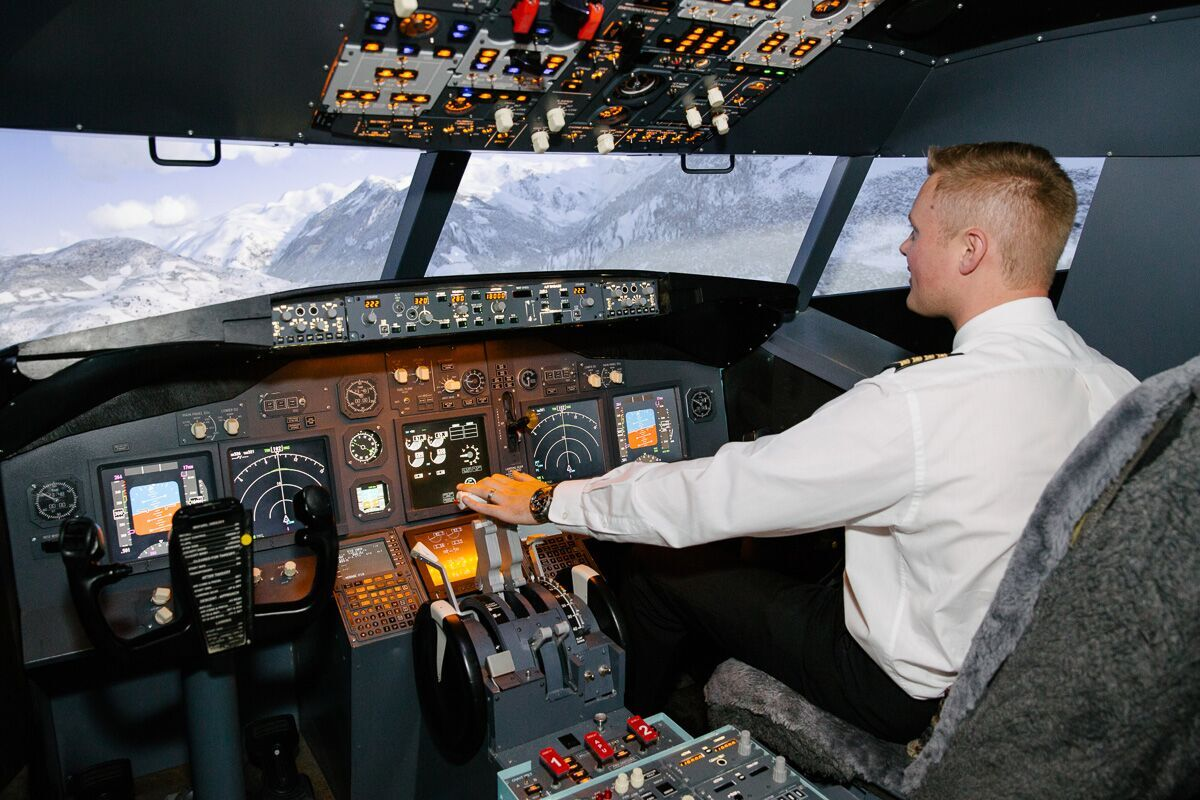 Melbourne Flight Simulator 737 Airliner